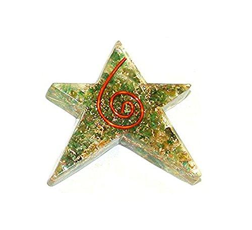 Reviheal TM Aventurine Orgone piatto Stella Merkaba Set Reiki Energy Geometria cristallo Spirituale