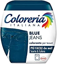 Coloreria Italiana 2338096 Grey Colorante Tessuti e Vestiti in Lavatrice, Color Jeans, 1 Confezione