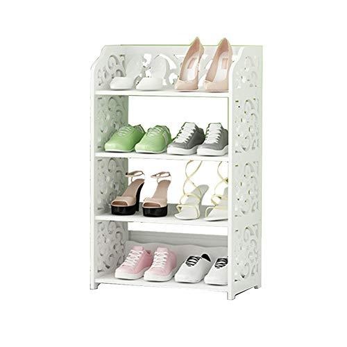 Porte-chaussures simple rack de chaussure économique étanche à la poussière ménage salle de séjour petite armoire à chaussures,40cm