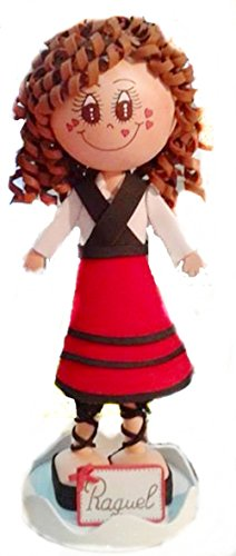 Muñeca personalizada Fofucha Asturiana