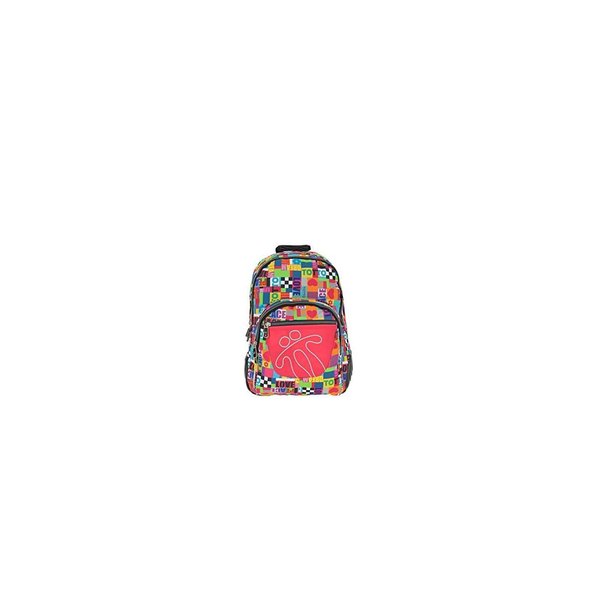 41LBlkFIC9L. SS1200  - TOTTO MA04ECO002-1610N-9P1 2018 Mochila Infantil, 44 cm, litros