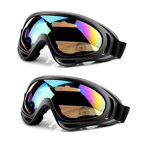 oard Brille Brillenträger Schneebrille Snowboardbrille - Für Skibrillen Damen Herren - OTG UV-Schutz mit Anti Fog für Skifahren, Snowboarden, fahrrad, motorrad, wintersport ()