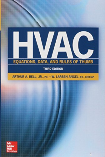 HVAC Equations, Data, and Rules of Thumb, Third Edition -