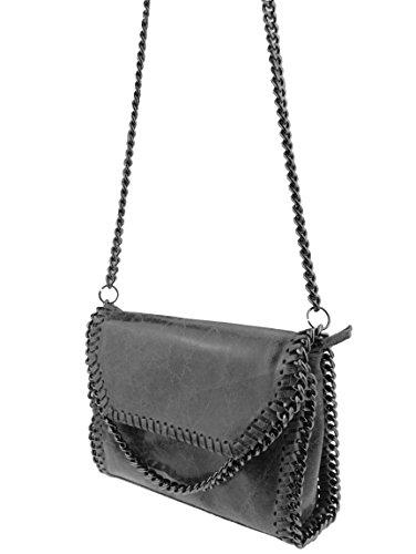 bag2basics-flapbag-echtes-leder-made-in-italy-umhaengetasche-clutch-little-jolene-dunkelgrau