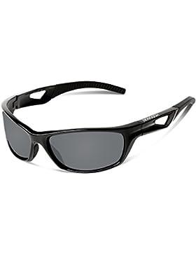 HODGSON Fahrradbrille Sport Sonnenbrille für Herren und Damen Polarisierte, UV400 Schutz Unzerbrechliche Sportbrille...