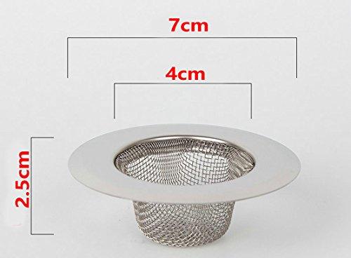 Vasca Da Cucina In Acciaio : Filtro in acciaio inox 2 pezzi filtro mini lavello filtro lavello