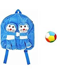 Jrp Mart Blue Twins DOBOX Soft Toy Bag With Little Ball - B072MFPRB8