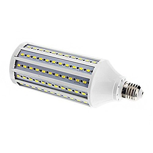 Kingnew LED Corn Light,25W AC220V132 SMD5630 LEDs Lighting bulb with E27 Base (Cool White) (Light E17 Base)
