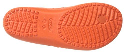 Crocs Kadeeiiflipw, Ciabatte Donna Rosso (Tangerine)