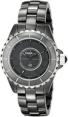 Chanel H3828negro reloj de la mujer