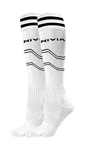Nivia Soccer Stockings PP Medium, (White)