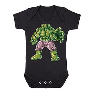 Baby Strampler Spiderman Maske Baby Body Marvel Comics: Superheld LOGOSHIRT