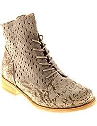 Felmini Chaussures Femme - Tomber en Amour Avec Trump B009 - Baskets - Cuir Véritable - Multicolore - 41 EU Size
