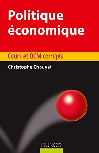 Politique économique - Cours et QCM corrigés