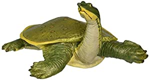 Safari Ltd Incredible Creatures - Soft Shell Turtle - Realistic Hand Painted Toy Figurine Model - Quality Construction from Safe and BPA Free Materials - For Ages 3 and Up - Large