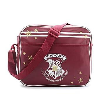 41LBtOBTfkL. SS324  - Bolsa Harry Potter Messenger Bolso Hogwarts Lleva Ordenador Portátil Gryffindor