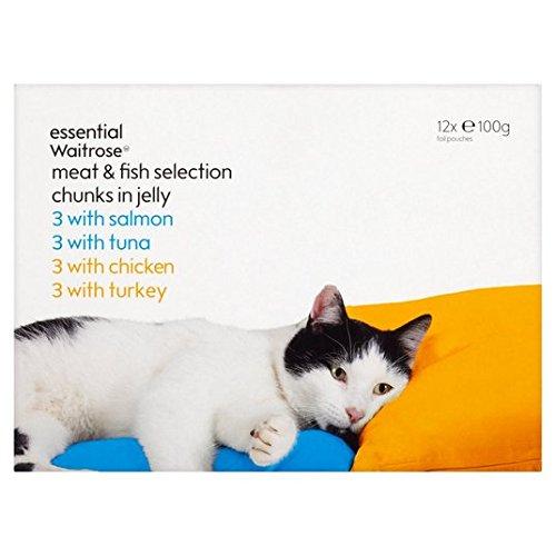 meat-fish-selection-cat-pouches-essential-waitrose-12-x-100g