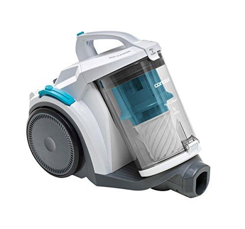 CONCEPT Hausgeräte VP5220 Zyklon-Bodenstaubsauger Perfect Clean, XXL Behälterkapazität, 4 L, 700 W, Bar, Weiß