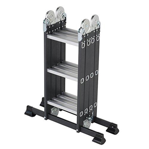 Pinnacle Systems - Escalera ajustable 12 peldaños