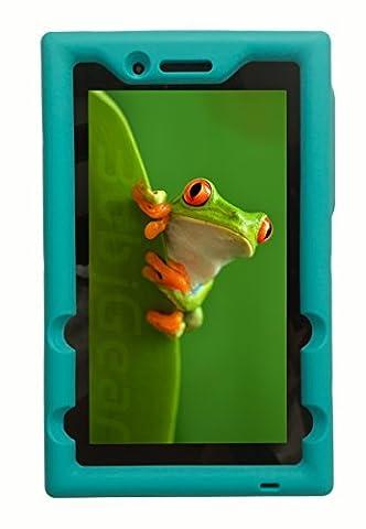 """Bobj Etui en Silicone Robuste pour Tablette Lenovo Tab 3 Essential, TB3-710F, TB3-710I, (Pas pour modèles Lenovo Tab 3 """"non-Essential"""") - BobjGear Housse de Protection"""