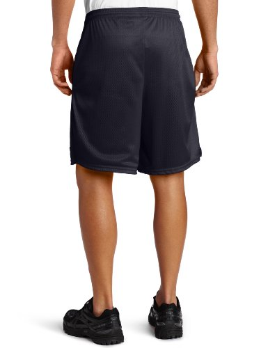 Champion Long Mesh Men's Shorts With Pockets Navy