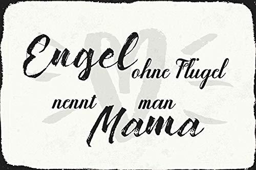 Kia Haop Angel Wings Design Metall Blechschild Garage Cafe Garten Wohnzimmer Küche Plaque Art Poster Metallschild Wand Dekoration