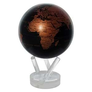 4.5 Copper and Black Earth MOVA Globe