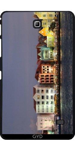 Custodia per Samsung Galaxy Tab 4 (7 inch) - Curacao Di Notte by Christine aka stine1 - Tropical Luce Di Notte
