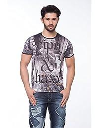 Cipo & Baxx Cipo & Baxx Camiseta con moderno frontal y respaldo Print