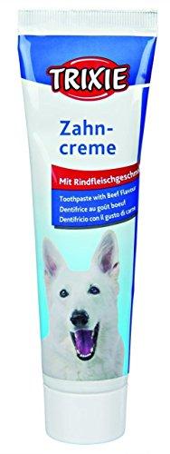 3 Tuben je 100 g TRIXIE Zahnpflege ZAHNCREME mit Fleischgeschmack für Hunde im Sparpack