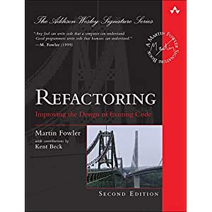 41LBzpPXCOL. SS300  - Refactoring: Improving the Design of Existing Code (Pearson Addison-Wesley Signature Series)