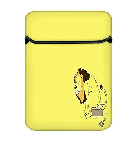 Der Löwe auf der Topf 14bis 14,6Schutz Neopren mit Tragetasche aus Tasche für MacBook Pro 15/Macbook Pro 15Touch Bar & 35,6cm Acer Dell HP Lenovo Chromebook