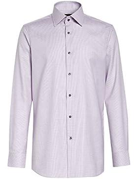 next Hombre Camisa Corte Ajustado Estampada Signature