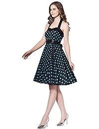 afaf86906acc1 Amazon.it  vestito vintage anni 50 - 38   Donna  Abbigliamento