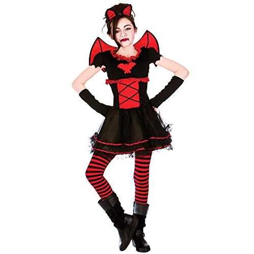 Kinder Little vamparina Horror Fancy Up Party Kleid -