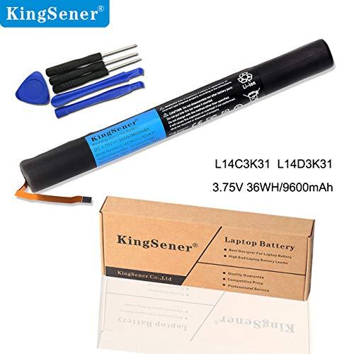 KingSener Nouvelle L14C3K31 Batterie Pour Lenovo Yoga Tablet 2 1050L 1050F 2-1050F 2-1051F 2-1050L 2-1050LC 2-1051L Yt2-1050 L14D3K31 Avec 2 Ans de Garantie Gratuite