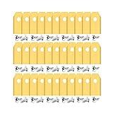 33x Titan Ersatz Messer Klingen, DigHealth Titan-Beschichtung Ersatzmesser Klingen für Husqvarna Automower/Gardena Mährobotor (3g - 0,75mm) + 33x Schrauben für 105, 310, 315, 320, 420, 430x, r40i