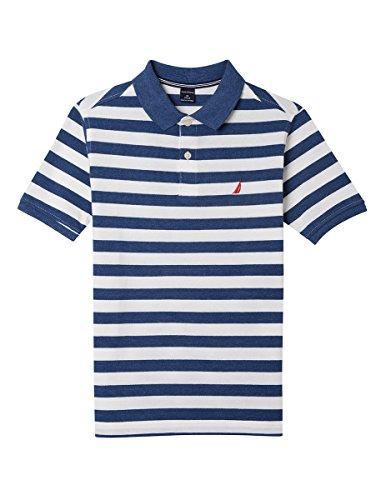 Nautica Jungen - Polo Hemd - weiß - Small (Jungen Weißes Nautica Hemd)