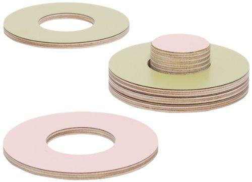 block-sottobicchieri-in-legno-e-formica-con-supporto-rosa-e-oliva