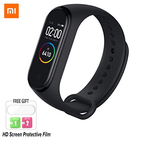 Nishci Mi Band 4 Watch, Xiaomi Band 4ta generación de Smart Watch Sports Mi  Fitness Tracker con Pantalla a Color Bluetooth 5 0 Versión estándar