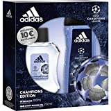 adidas Herrendüfte Champions League Geschenkset After Shave 100 ml + Shower Gel 250 ml 1 Stk.