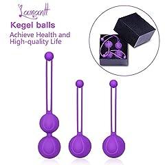 Idea Regalo - Palline di Kegel Balls, Pavimento pelvico pavimento muscolare formazione palle di Kegel controllo della vescica e il miglioramento dell'incontinenza urinaria, Consigliato da un medico