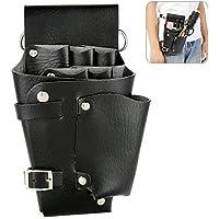 Bolsa de Herramientas de Peluquería profesional, Estilista Cinturón de Cintura de Contenedor de peine de Múltiples Funciones