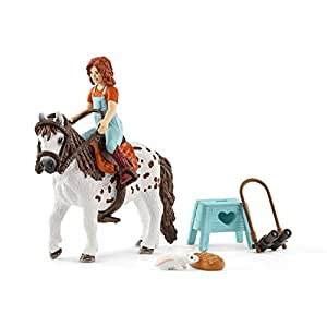 schleich figurine horse club mia spotty 42435 jeux et jouets. Black Bedroom Furniture Sets. Home Design Ideas