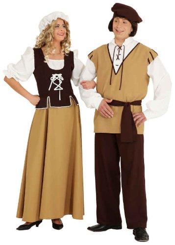 alter Magd Kleid zu Karneval Fasching Gr.46 ()