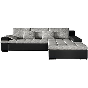 Design Ecksofa Bangkok Moderne Eckcouch Mit Schlaffunktion Und Bettkasten Fr Wohnzimmer Gstezimmer Couch L Form Wohnlandschaft