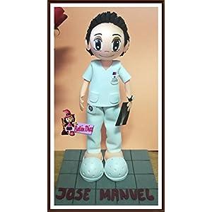 andgemachte Puppe Krankenschwester