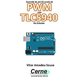 Almencla 16-Channel 12-bit PWM Drive Shield Module IC TLC5940 for