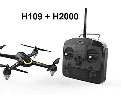 HUBSAN H109 X4 Brushless RC Helicopter Drone 2.4Ghz 6-Axis Gyro 4 Channels Quadcopter Good Choice for Drone Training