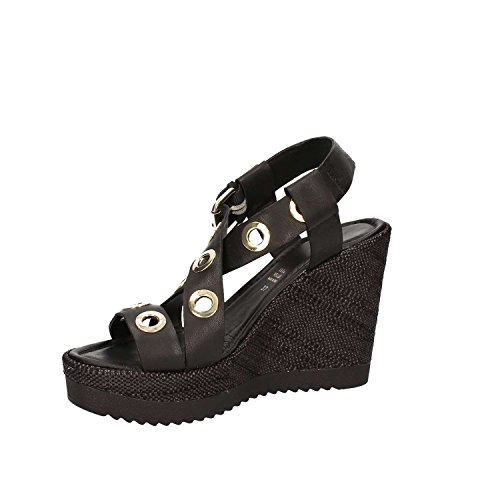 GRACE SHOES 52408 Sandalo zeppa Donna Bianco